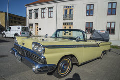 1959 Ford Fairlane 2 Door Convertible Royalty Free Stock Photos