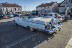 1959 Ford Fairlane 500 Galaxie Convertible Royalty-vrije Stock Afbeeldingen