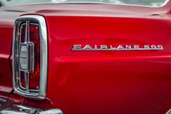 1966 Ford Fairlane 500 Hardtop Στοκ φωτογραφία με δικαίωμα ελεύθερης χρήσης