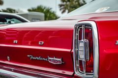 1966 Ford Fairlane 500 Hardtop Στοκ Εικόνες