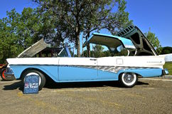 1958 Ford Fairlane 500 Skyliner Royalty-vrije Stock Afbeelding