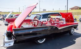 1957 Ford Fairlane Skyliner Automobile royalty free stock image