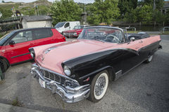 Ford Fairlane Sunliner Convertible 1956 Photographie stock