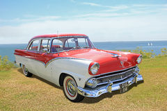 Ford fairlane vintage classic car Royalty Free Stock Image