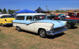 "Rare Ford: 1956 Fairlane as Station Wagon ""Parklane"" Stock Photo"