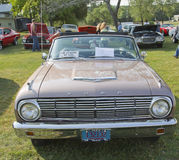 Ford Falcon Front sikt 1963 Arkivfoto