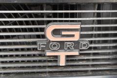 Ford Falcon 351 GT symbolisent sur l'affichage Image libre de droits