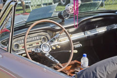 Ford Falcon Interior 1963 Photographie stock libre de droits