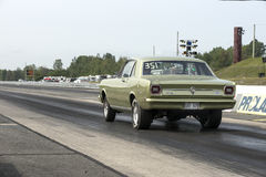 Ford falcon on the track Stock Photography