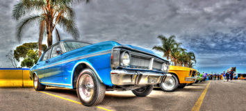 1971 Ford Falcon XY Royalty Free Stock Photography