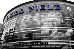 Ford Field Royaltyfria Foton