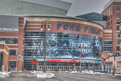 Ford Field Royaltyfri Bild
