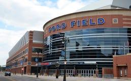 Ford Field en Detroit, MI Imagen de archivo libre de regalías