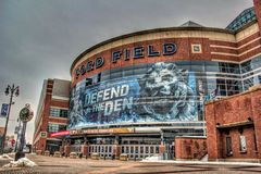 Ford Field Royalty Free Stock Photo
