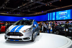 Ford FIESTA on display at The 35th Bangkok International Motor Show. Royalty Free Stock Photography