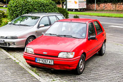 Ford Fiesta Royalty Free Stock Photos