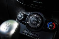 Ford Fiesta Heater Controls - DoF Foto de archivo libre de regalías