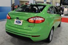 Ford fiesta przy auto przedstawienia tylni stroną 03 Zdjęcie Stock