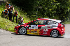 Ford fiesta R5 Obraz Stock