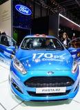 Ford Fiesta R2, Motor Show Geneva 2015. Stock Photos