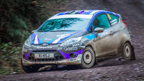 Ford Fiesta R2 rally car Royalty Free Stock Photography