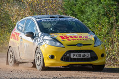 Ford Fiesta rally car Royalty Free Stock Image