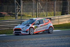 Ford Fiesta rally car at Monza Royalty Free Stock Image