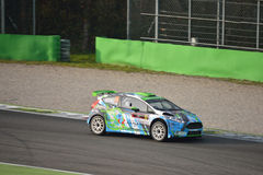 Ford Fiesta rally car at Monza Stock Photography