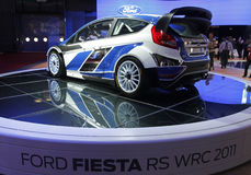 Ford fiesta rs wrc 2011 Stock Photo