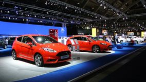 Ford Fiesta ST en Nadruk ST stock video