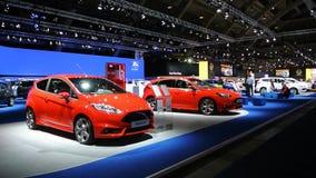 Ford Fiesta St. und Fokus St. stock video