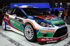 Ford Fiesta WRC Royalty Free Stock Images