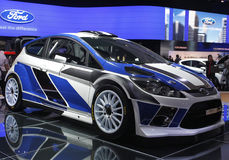 Ford fiesta wrc 2011 Stock Photography