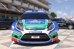 Ford Fiesta WRC. From Petter Solberg Stock Images