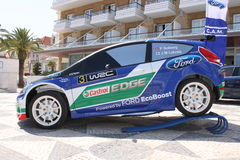 Ford Fiesta WRC Stock Photography