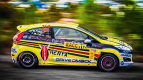 Ford fiesta wrc Royalty Free Stock Photo