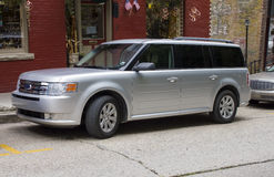 2012 Ford Flex Silver Stock Photos