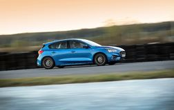 Ford Focus 2018 obraz stock