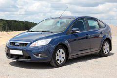 Ford Focus 2008 blue. Klima Stock Photography