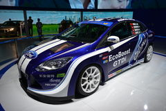 Ford Focus CTCC race car Royalty Free Stock Image