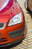 Ford focus front headlight Royalty Free Stock Photography