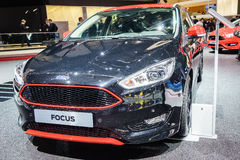Ford Focus, Motor Show Geneve 2015. Royalty Free Stock Photo