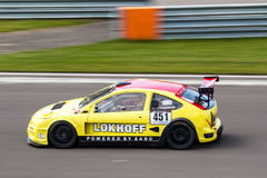 Ford Focus race car Stock Images