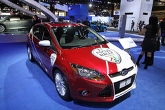 Ford Focus for rally 2011 Stock Photo