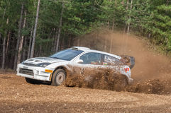 Ford Focus rally car Royalty Free Stock Images