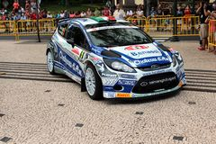 Ford focus Rally car Royalty Free Stock Image