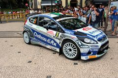 Ford focus Rally car Stock Photo