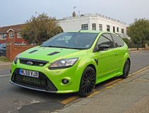 Ford focus rally sport car Stock Images
