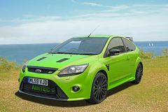 Ford focus rally sport car Stock Photography