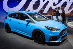 2016 Ford Focus RS Fotografia Royalty Free